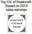 Director's Platinum Award Top 5%